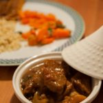 Tajine with lamb or beef