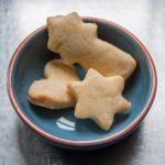 Zitronen Mailänderli (Swiss Christmas Cookie)